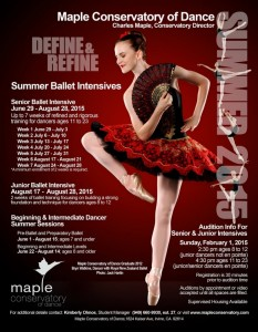 Maple Summer Program 2015